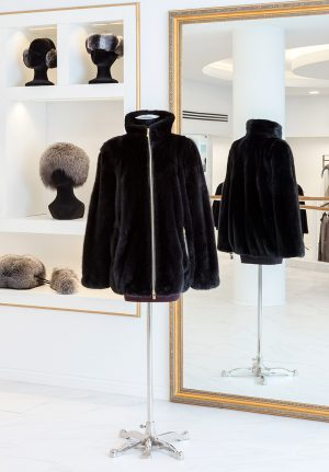 Long-hair Mink Jacket